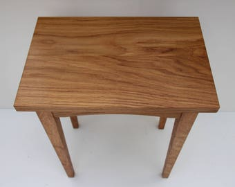 End Table, Side Table, Oak End Table, Shaker Style End Table, Heirloom