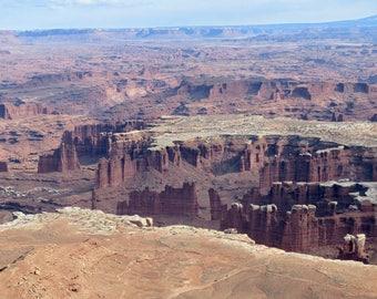 Unreal Canyon print