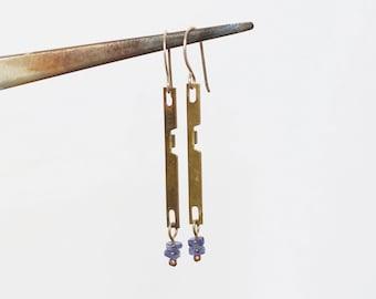 Camera part earrings