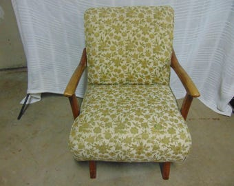 1950's Paoli Rocking Chair--Local Pickup or Arrangements - Paoli Indiana - Paoli Chair - Bounce Chair - Floral Pattern Chair - Vintage Chair