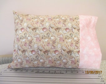 Seashell Travel Size Pillowcase