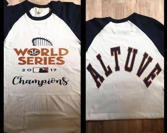 World Series Champions baseball tee