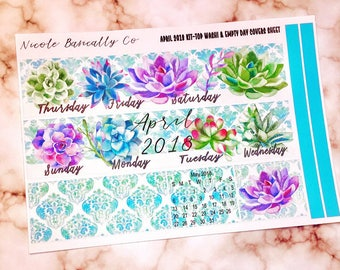 April 2018 Succulents Monthly Overview Kit