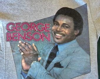 Vintage Mint 50/50 Screen Stars George Benson T-shirt Hip Jazz Soul 1983 CTI