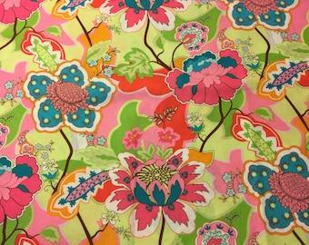 Floral Fabric. 1/3 yd. Mod Fabric. Neon Fabric. Pink Floral Fabric. Jacobean Fabric. Mod Fabric. Tropical Fabric. Hawaiian Fabric