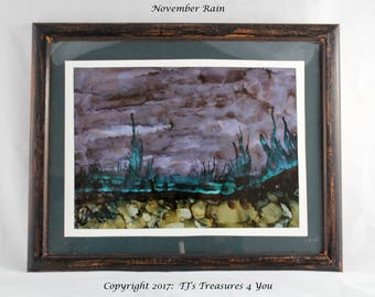 November Rain by Twyla Jensen