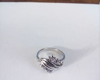 Vintage Silver Tone Sarah Coventry AA Justable Ring