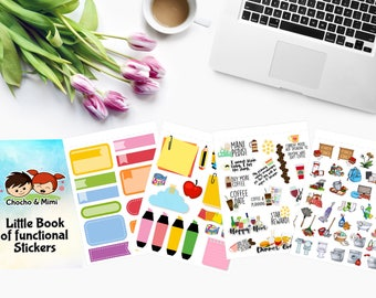 LITTLE BOOK Of Functional Stickers