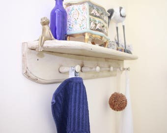 French style shelf and hanger