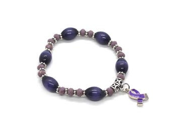 Fibromyalgia Bracelet - Fibro Bracelet - Fibromyalgia Awareness - Fibro Jewelry - Fibromyalgia Jewelry - Fibro Awareness Bracelet - Fibro