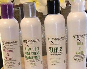 RXestoratives STEP 1 & 3 Mint Conditioner