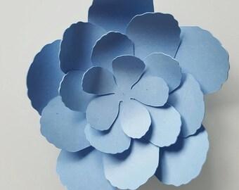 Paper 210 gr - little blue - lavender flowers