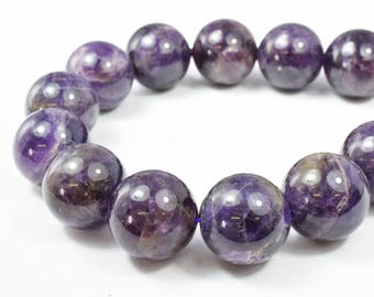 Amethyst Round Gemstone Beads Plain Size 8mm/10mm/12mm/21mm for Jewelry Making Sold by 15.5 inch String,Amethyst Jewelry,Amethyst stones