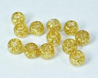 9mm Glitter Plastic Beads/ Wholesale beads/Wholesale plastic beads/Glitter Pony Plastic Craft Bead/Beauty Supplies/Plastic Pony Bead
