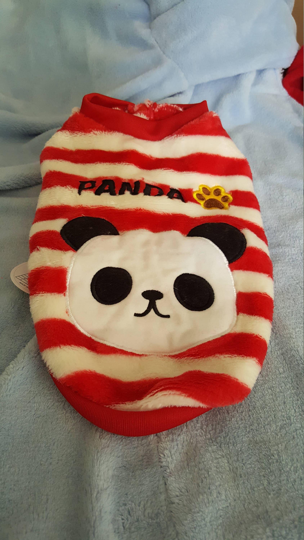 panda dog suit