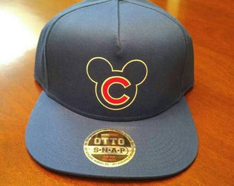 Mickey Chicago Cubs Hat (snapback)
