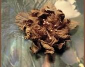 Fleur ( Petite broche ) en tissu de belle qualité