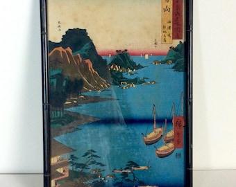 Vintage Japanese Uchida Woodblock Print