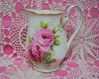 Beautiful Vintage Royal Albert AMERICAN BEAUTY Large Pitcher.