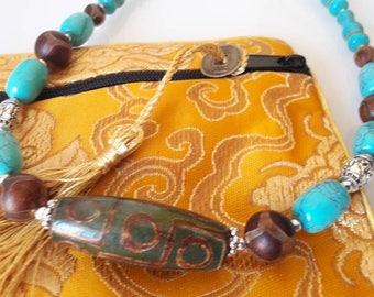 Necklace 100% Tibetan n2