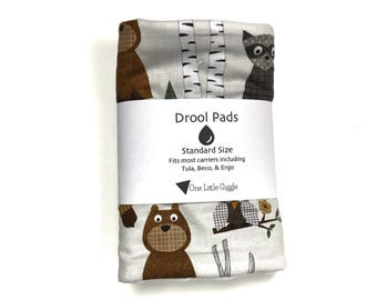 Drool Pads - Woodland Animals - Ready to ship