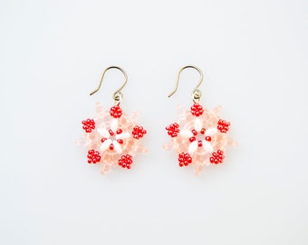 Cherry Blossom Starburst Earrings
