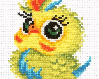Cross Stitch Kit Parrot art. 10-31
