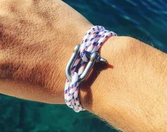 Manila rope marine bracelet