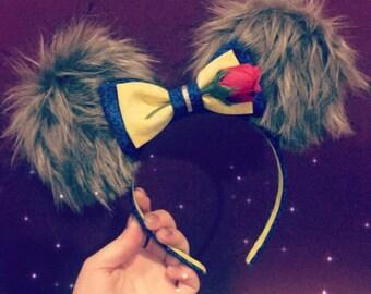 Deluxe Beast Inspired Ears! Beauty & The Beast Mouse Ears