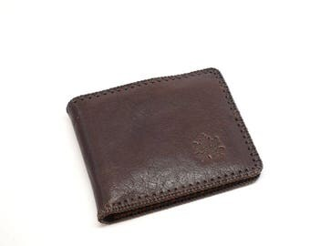 Mens wallet, leather wallet, Tan leather wallet, genuine men wallet, groomsmen, father's day gift, men's wallet,hand stitched, mens billfold
