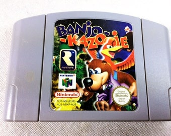 Banjo Kazooie Nintendo 64 - N64 - PAL N64 - Tested and Working