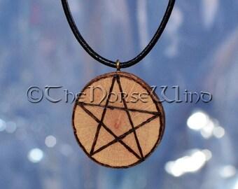 Pentagram Necklace, Wicca Necklace Pentacle / Pentagram Pendant Protection Amulet Wiccan Pagan Jewelry Celtic