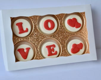 Valentines Gift, Unique Gift, Gift for Her, Chocolate Covered Oreos, Gift for Wife, Girlfriend Gift, Wedding Gift, Anniversary Gift, Oreos