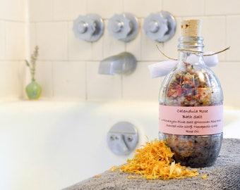 Calendula Rose Blended Bath Salts