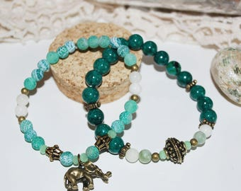 Pair of Elephant bracelets