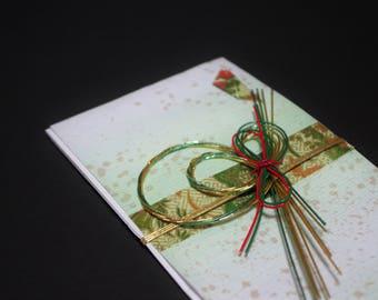 """33.Mizuhiki envelopes This envelope is used for each celebration. A special envelope called """"noshibukuro"""""""