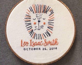 Medium Custom Embroidery - 8 in hoop