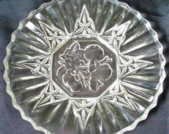 Federal Glass Pioneer Pattern Luncheon Plate