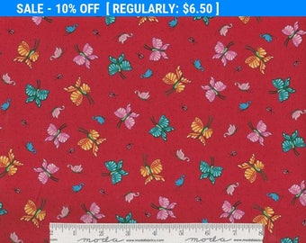 SALE! Butterflies - Per Yd - Mary Engelbreit -Quilting Treasures