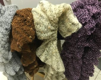 Big Ruffle Scarves