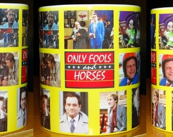Only Fools And Horses Del Boy Rodney Tv Show Mug