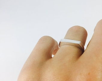 Sterling Silver THOTHFORM Band Ring