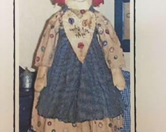 Rustic Raggedy Doll Pattern