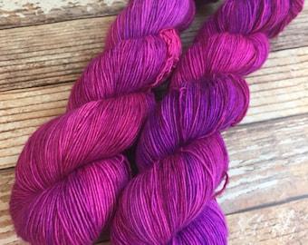 Maria - Cheshire Cat - Hand Dyed Yarn - 100% Superwash Merino/Single