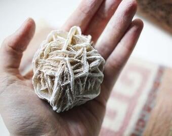 Large Desert Rose Selenite Crystal | Desert Rose | Raw Selenite Desert Rose | Desert Rose Stone | Selenite Crystal | Boho Decor | #3