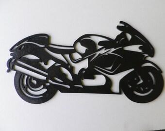 Teaches SUZUKI YABABUSA iron plate painted hammered effect finish