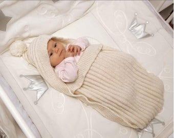 Sleeping bag - knit liner of 100% Merino Wool