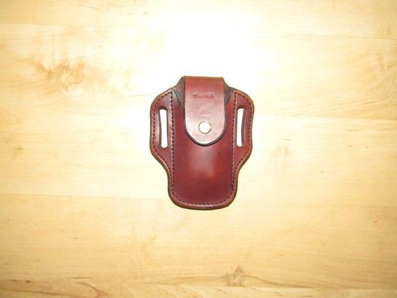 Leather Sheath custom crafted for Leatherman © Wave Sheath, custom Wave Case, Leather case, for your belt, EDC, OWB