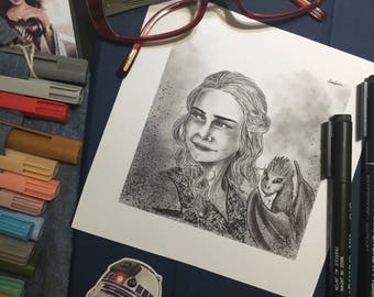 Custom Made Illustrations and Portraits for Prints