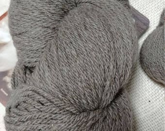 Natural Colored Cormo Worsted Weight 300 yard 3ply Skein